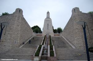 The imposing Victory Monument, Verdun