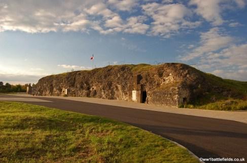 Exterior of Fort Vaux