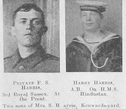 F S Harris & Harry Harris