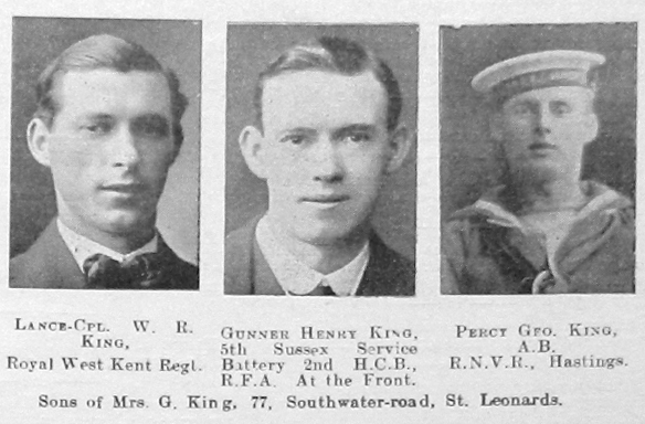 King, Percy George