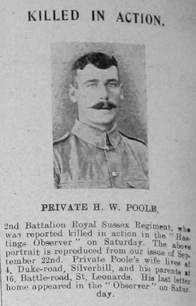 Harry Walter Poole