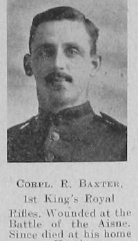 R Baxter