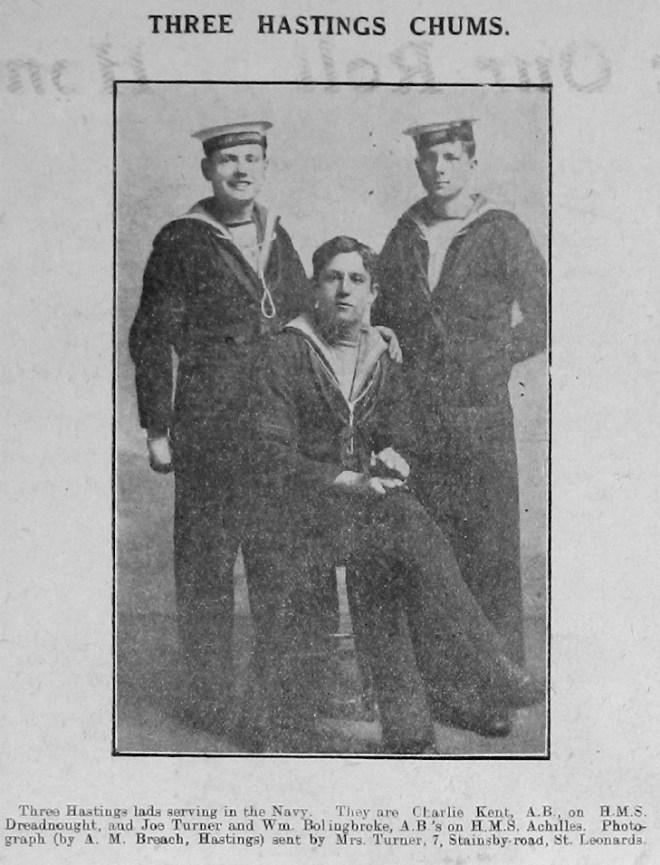 Charles Kent, Joseph Turner & William Bolingbroke