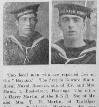 Edward Mann & Henry Martin