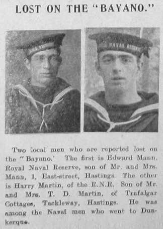 Edward Mann & Harry Martin