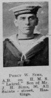 Percy W Sims