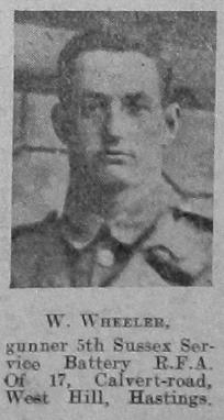 W Wheeler