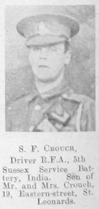 S F Crouch