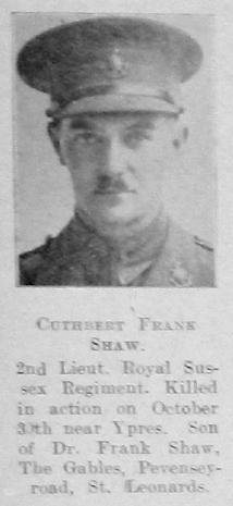 Cuthbert Frank Shaw