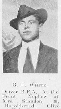 G F White