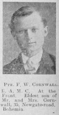 F W Cornwall