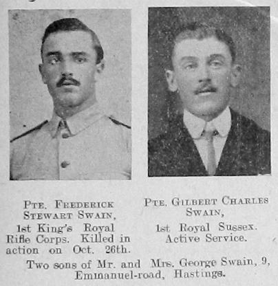 Swain, Frederick Stewart & Swain, Gilbert Charles - 1214