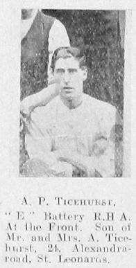 A P Ticehurst