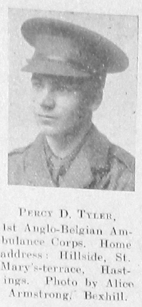 Percy D Tyler