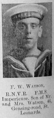 F W Watson