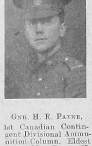 H R Payne