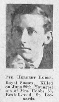Herbert H Hobbs