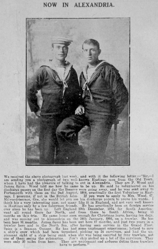 Percy Wood and James Spice