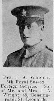 J A Wright