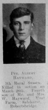 Albert Hayward