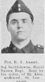 Arthur Reginald Abrey