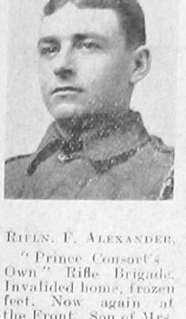 Frederick George Alexander