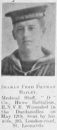 Bailey, Fred Denman