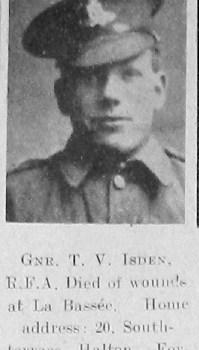 Thomas V Isden