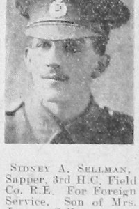 Sidney A Sellman