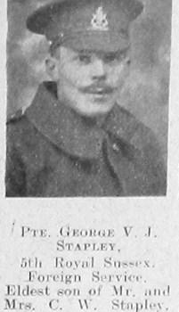 George V J Stapley