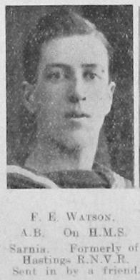 Frederick Ernest Watson