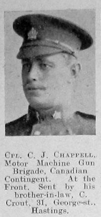 C J Chappell