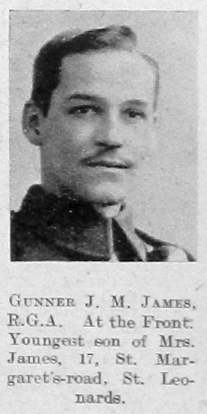 J M James