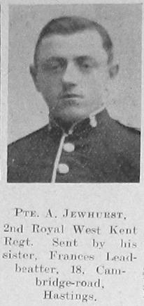 Albert W Jewhurst