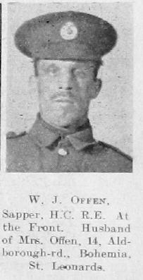 William J Offen