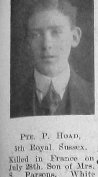 Percy E Hoad