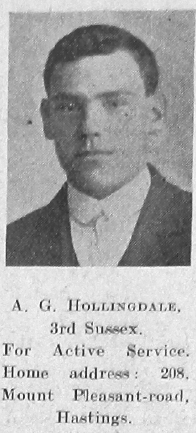 A G Hollingsdale