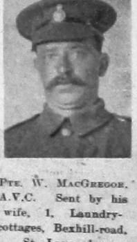 W Macgregor