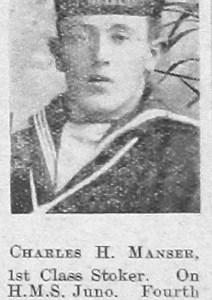 Charles H Manser