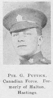 George William Puttick