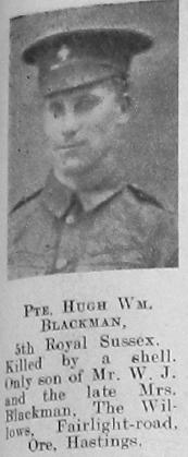 Hugh William Blackman
