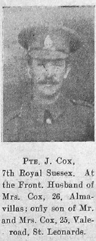 J Cox