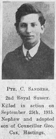 Cyril John Sanders