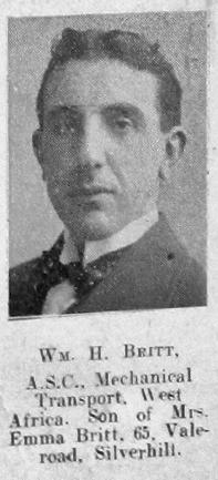 William H Britt