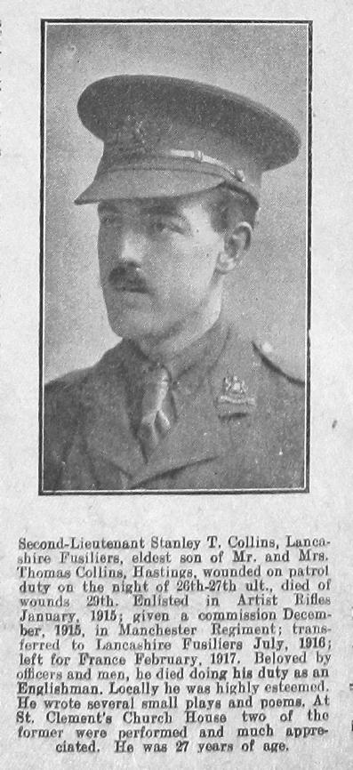 Stanley T Collins