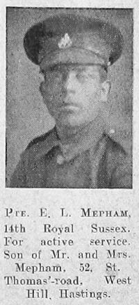 Ernest Leonard Mepham