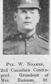 W Noakes