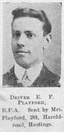 Edward F Playford