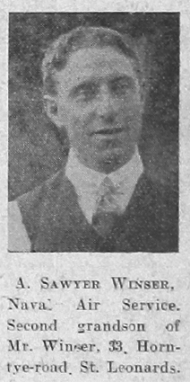 Arthur Sawyer Winser
