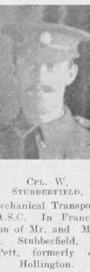 Stubberfield, William G